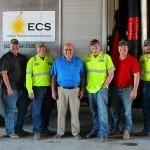 ECS hydrovac crew